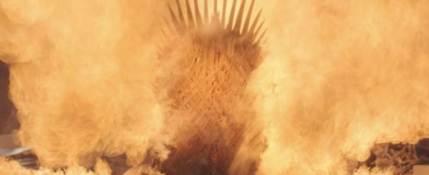 Game of Thrones burning