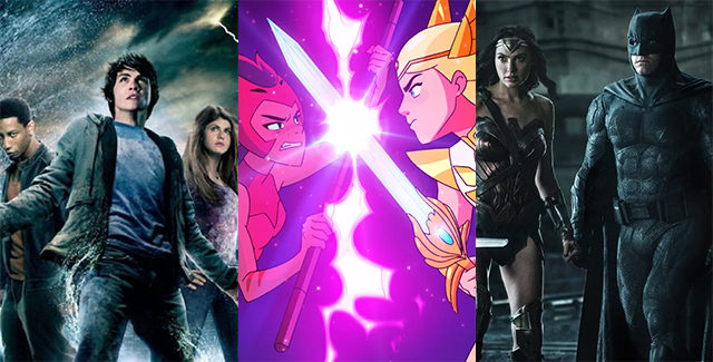 We talk new beginnings (Percy Jackson) and old endings (She-Ra and the Princesses of Power), along with an in-depth discussion of what the Snyder Cut means to us.