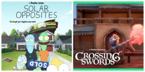 Hulu Solar Opposites Crossing Swords