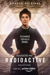 Radioactive Amazon Prime poster