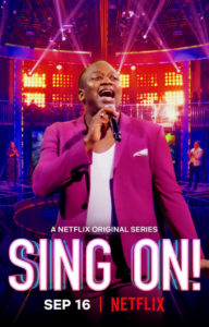 Sing On! poster