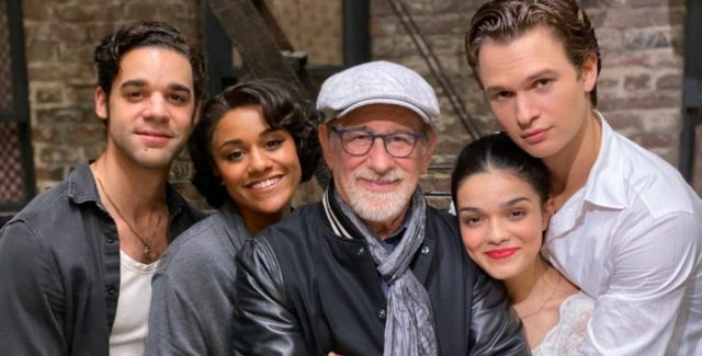 Something's coming... The teaser trailer for Steven Spielberg's 'West Side Story' has officially arrived. The movie will release in December.